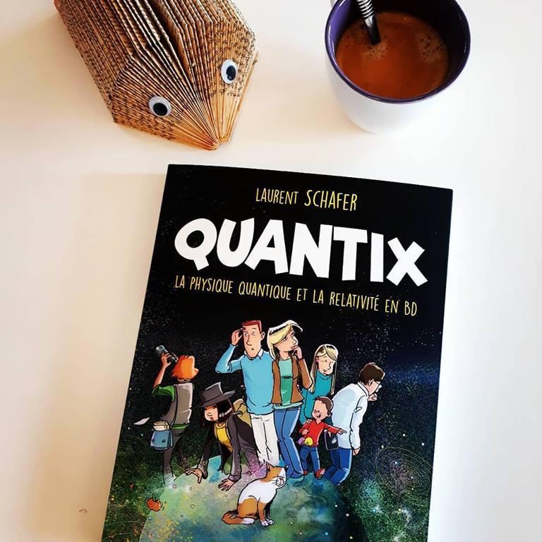 Quantix: la physique quantique et la relativité en BD
