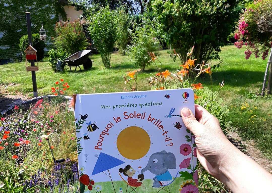 """""""Pourquoi le soleil brille-t-il?"""" de Christine Pym et Katie Daynes"""