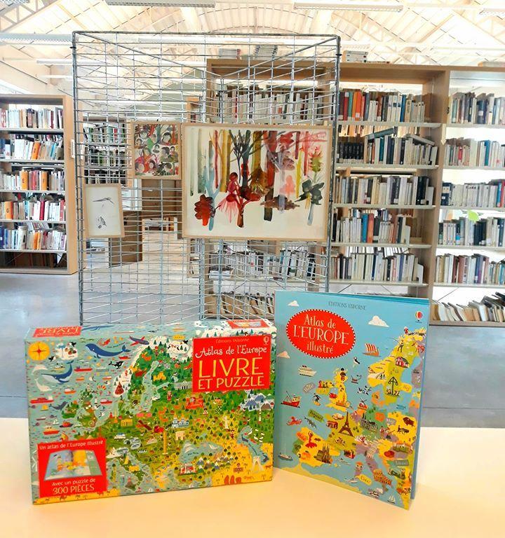 Atlas de l'Europe: livre et puzzle