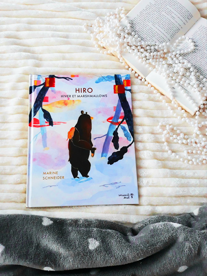 Hiro, hiver et marshmallows Texte et illustrations de Marine Schneider
